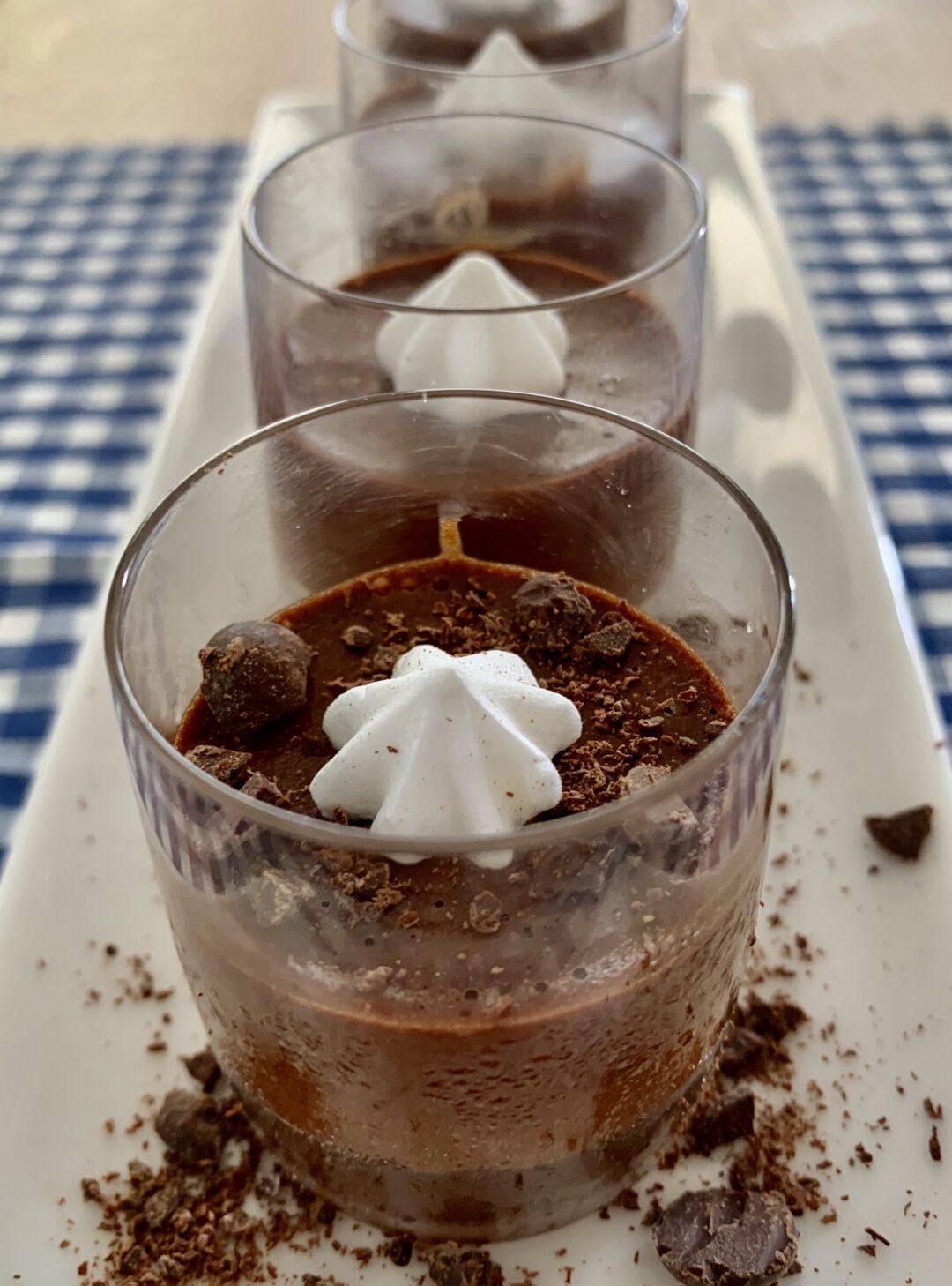 מוס שוקולד בריא