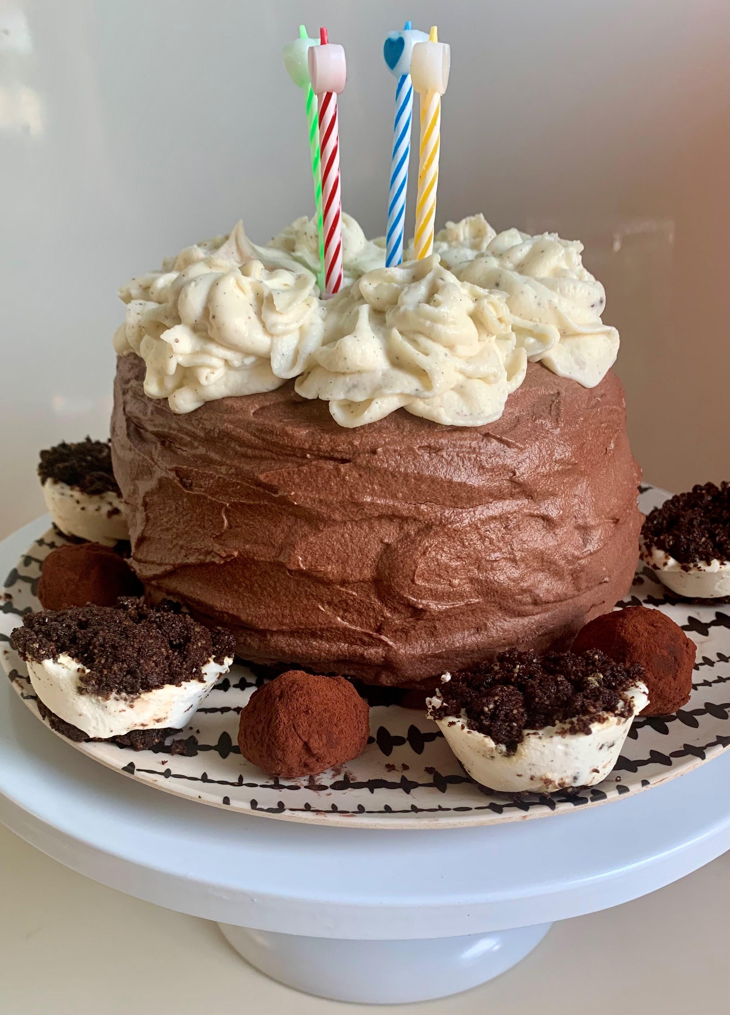 עוגת יום הולדת קטוגנית