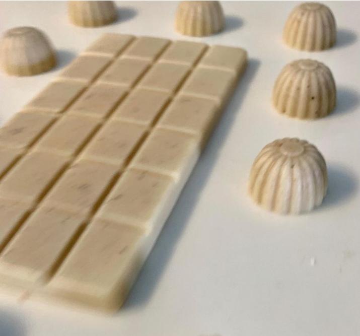 שוקולד לבן ללא סוכר