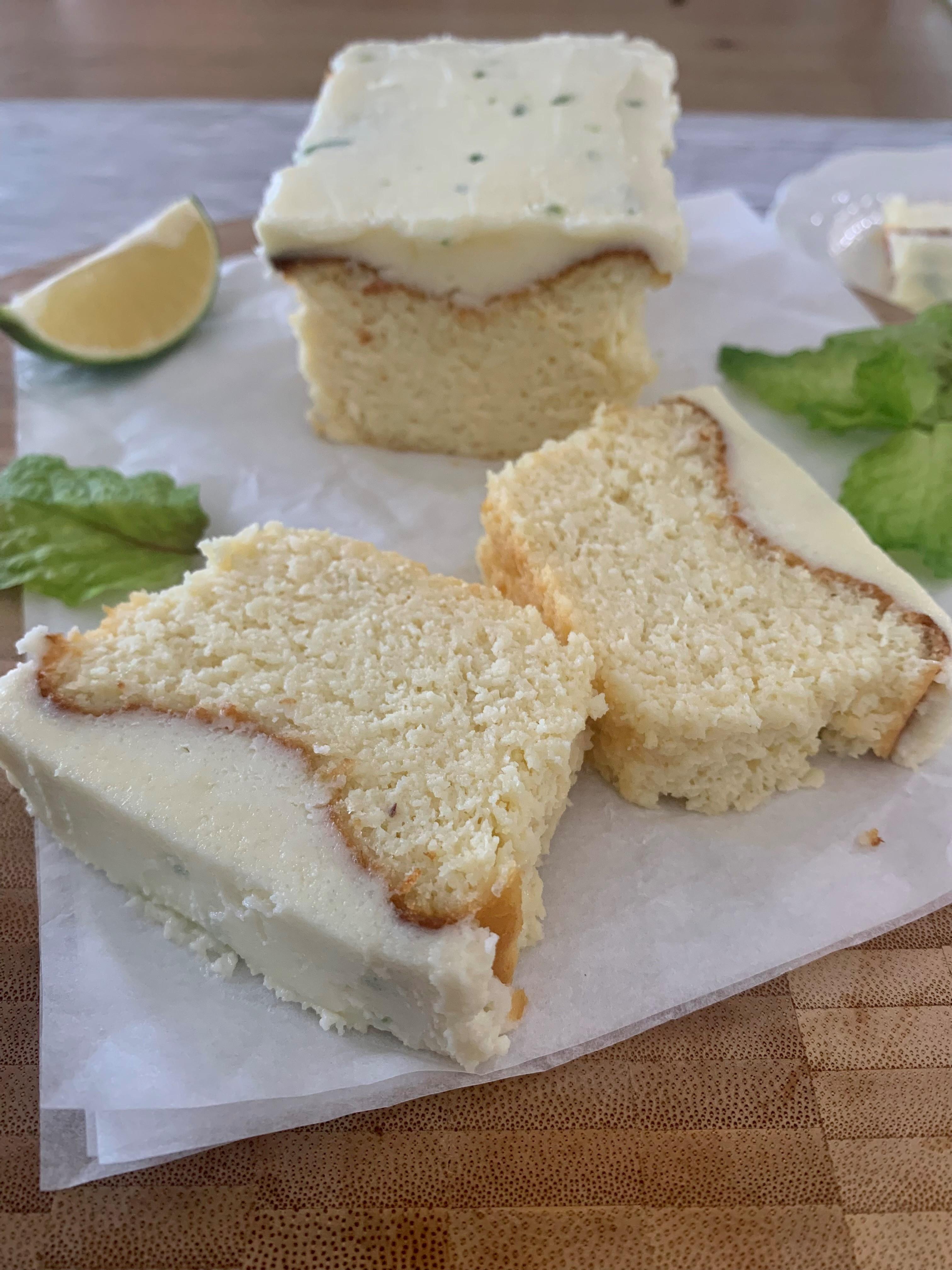 עוגת לימון קטוגנית