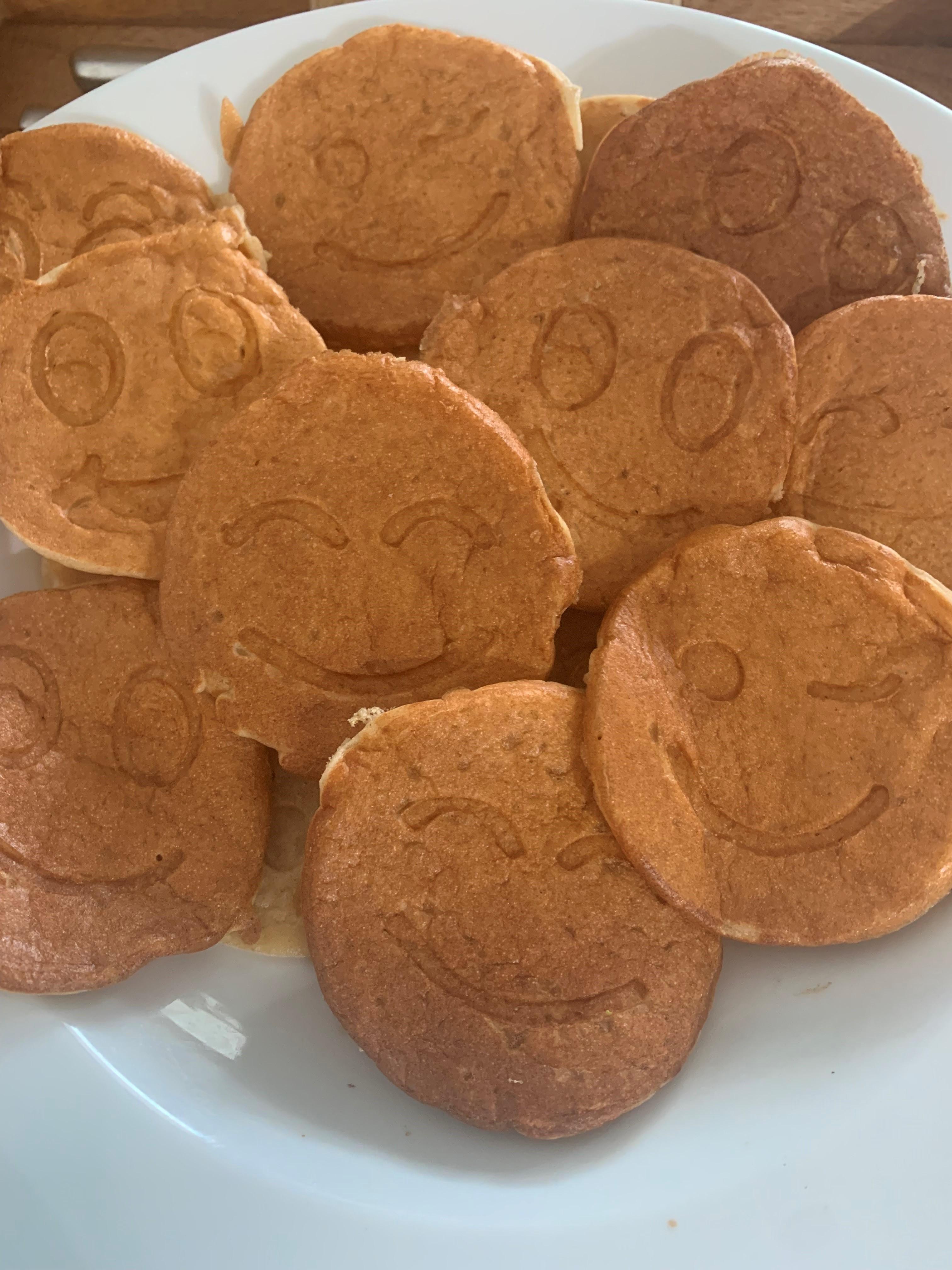 פנקייק בריא לילדים מקמח כוסמין